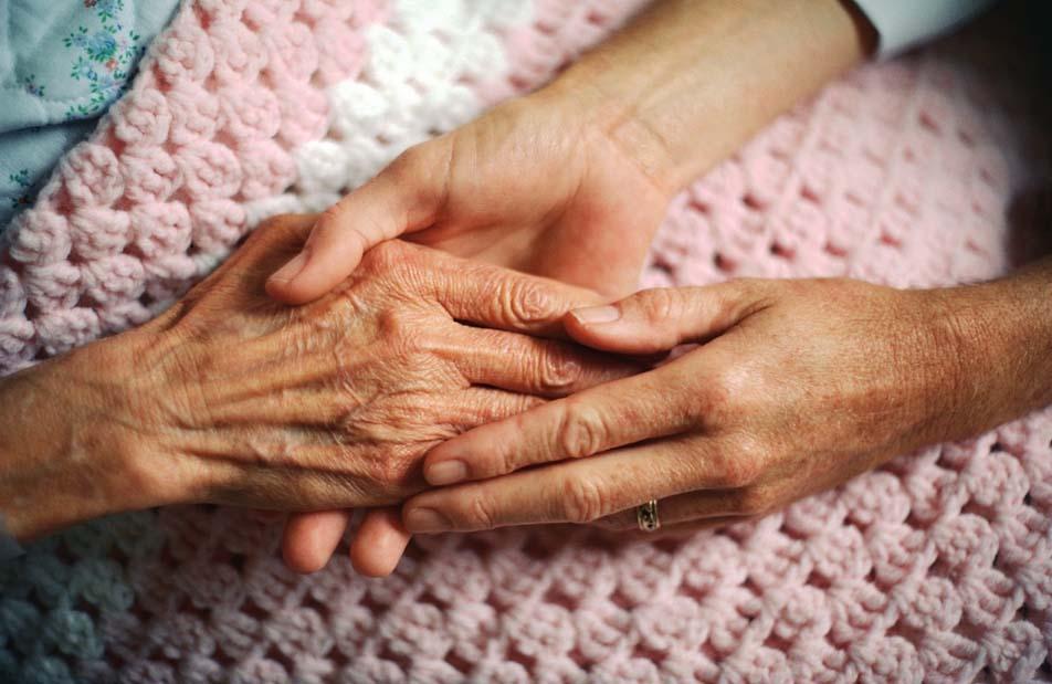 ElderlyTouchHands